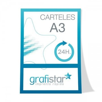 Carteles DIN A3 (42x29,7 cm)
