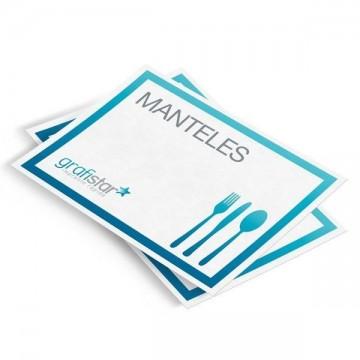 Manteles de papel personalizados