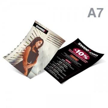 Imprimir flyers A7